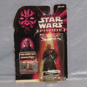 Collectible Star Wars Episode 1 Darth Maul figure